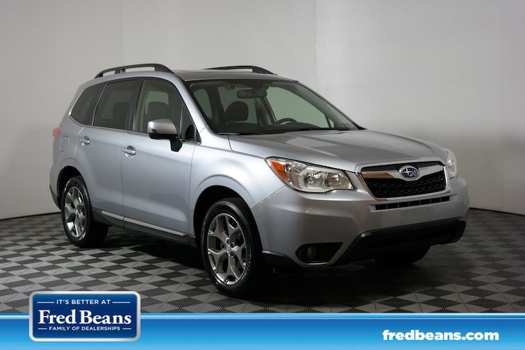 Certified 2016 Subaru Forester 2.5i Touring SUV for sale at Fred Beans Subaru in Doylestown, PA