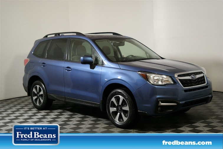 Certified 2017 Subaru Forester Premium SUV for sale at Fred Beans Subaru in Doylestown, PA