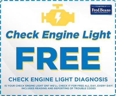 Free Check Engine Diagnosis