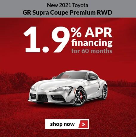 New 2021 Toyota GR Supra Coupe Premium RWD