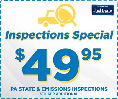 September Inspection Special