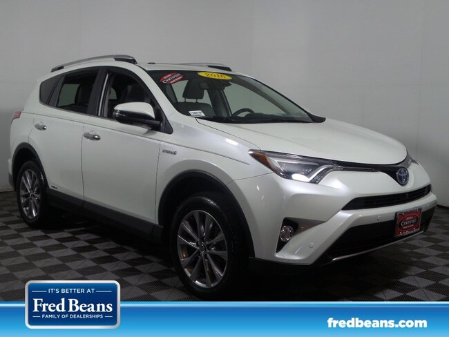 Used Toyota Rav4 For Sale >> Certified Used 2016 Toyota Rav4 Hybrid Limited For Sale In