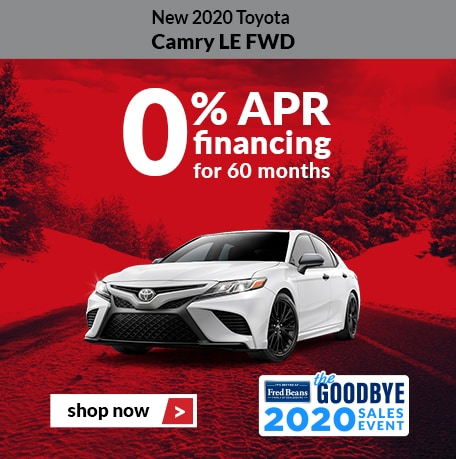 New 2020 Toyota Camry LE FWD