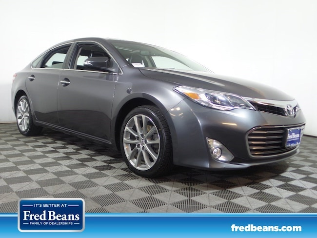 2015 Toyota Avalon For Sale >> Certified Used 2015 Toyota Avalon Xle Premium A6 For Sale In
