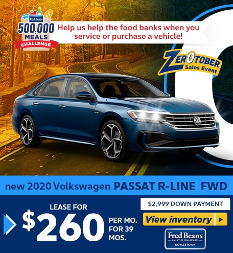 New 2020 VOLKSWAGEN PASSAT R-Line FWD