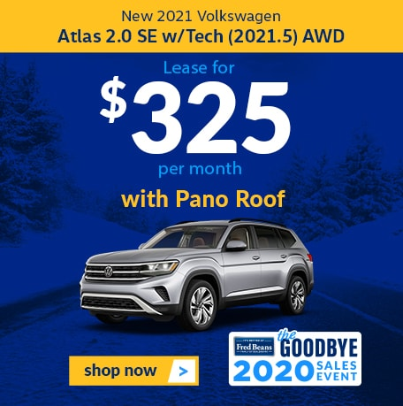 New 2021 Volkswagen ATLAS 2.0 SE W TECH AWD