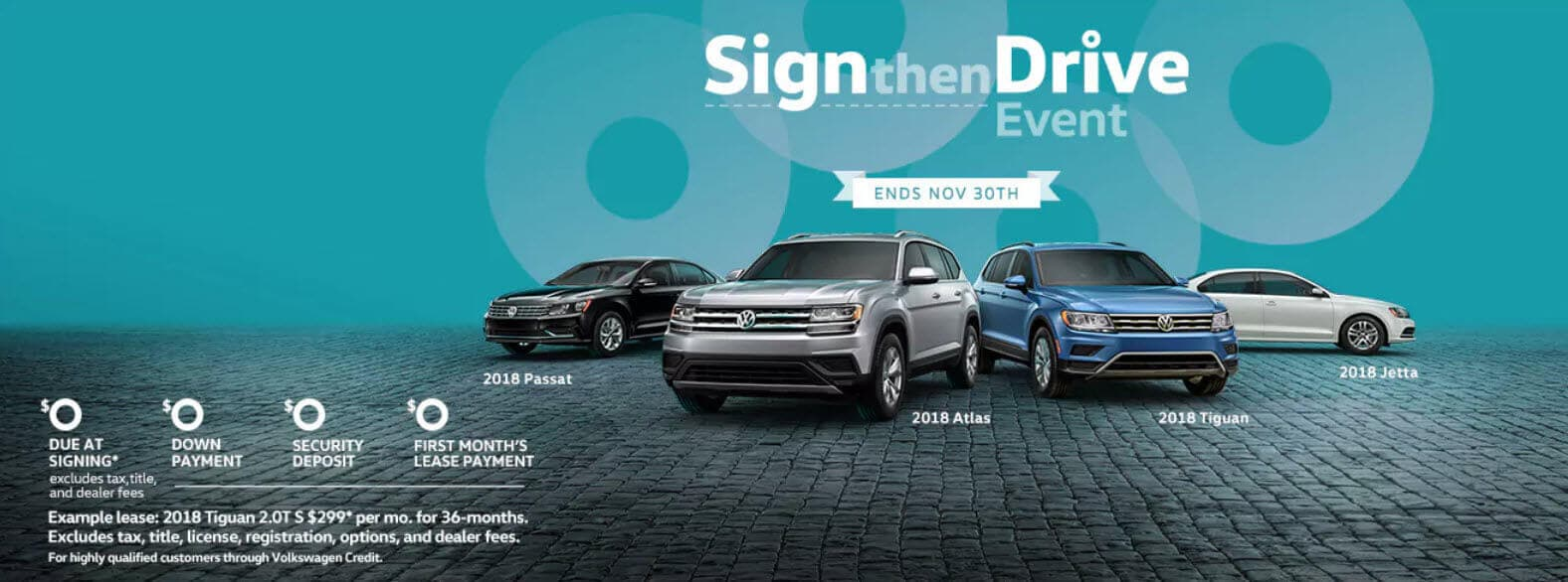volkswagen sign then drive event at fred beans volkswagen