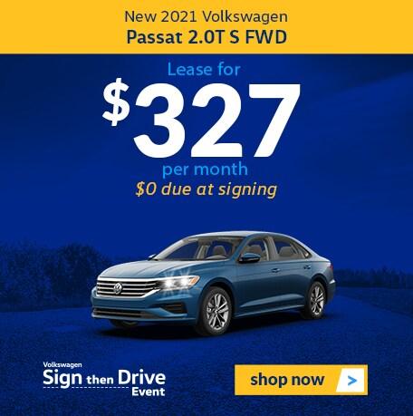 New 2021 Volkswagen Passat 2.0T S FWD