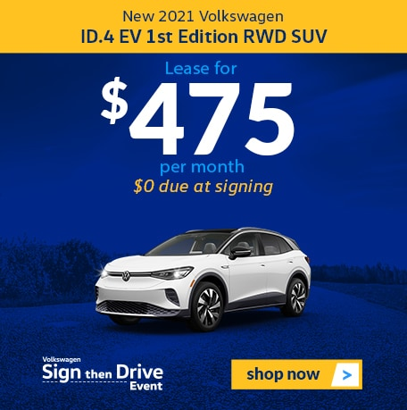 New 2021 Volkswagen ID.4 1st Edition RWD SUV