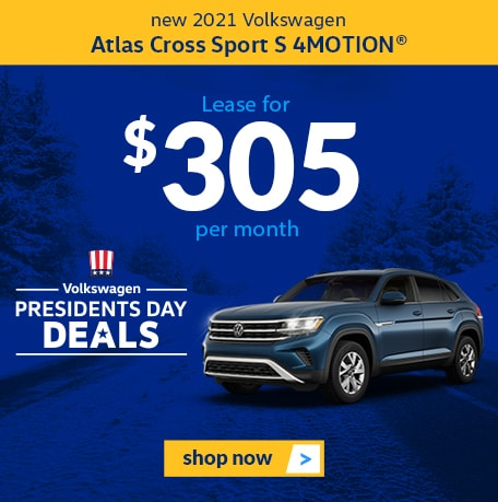 New 2021 Volkswagen Atlas Cross Sport S 4MOTION®