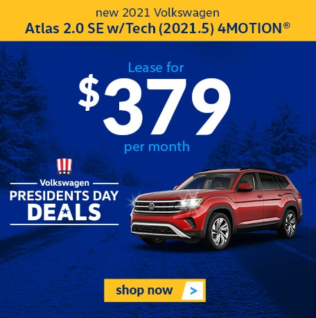 New 2021 Volkswagen Atlas 2.0 SE w/Tech 4MOTION®
