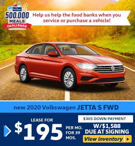 New 2020 Volkswagen JETTA S FWD