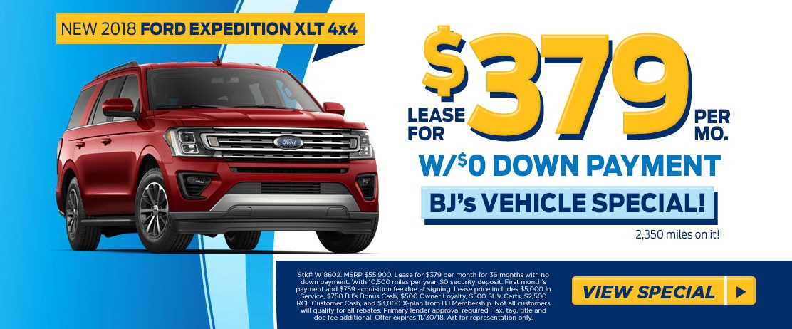 lease a 2018 ford expedition xlt for 379 mo at fred beans. Black Bedroom Furniture Sets. Home Design Ideas