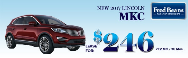 2017 lincoln mkc premium 246 mo at fred beans ford. Black Bedroom Furniture Sets. Home Design Ideas