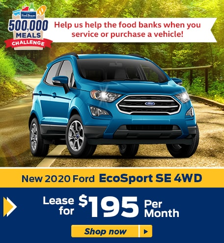 New 2020 Ford Ford EcoSport SE 4WD