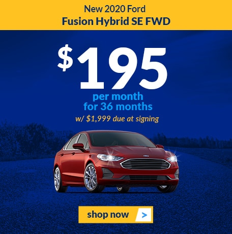 New 2020 Ford Fusion Hybrid SE FWD