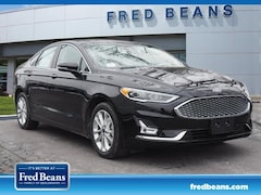 New 2019 Ford Fusion Energi Titanium Zero Down Lease $309 per month Sedan in West Chester PA