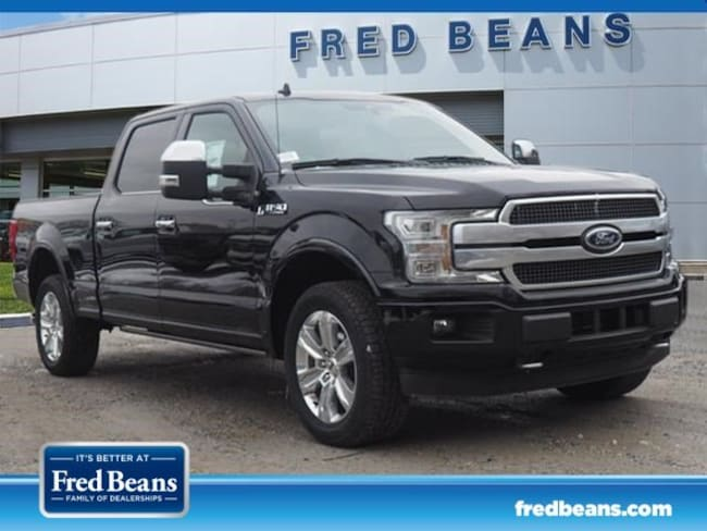 New 2019 Ford F-150 Platinum Truck SuperCrew Cab in West Chester PA