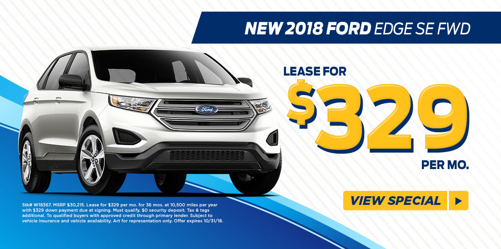 Lease A  Edge For  Mo At Fred Beans Ford Of West Chester