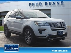 New 2019 Ford Explorer Platinum SUV in West Chester PA