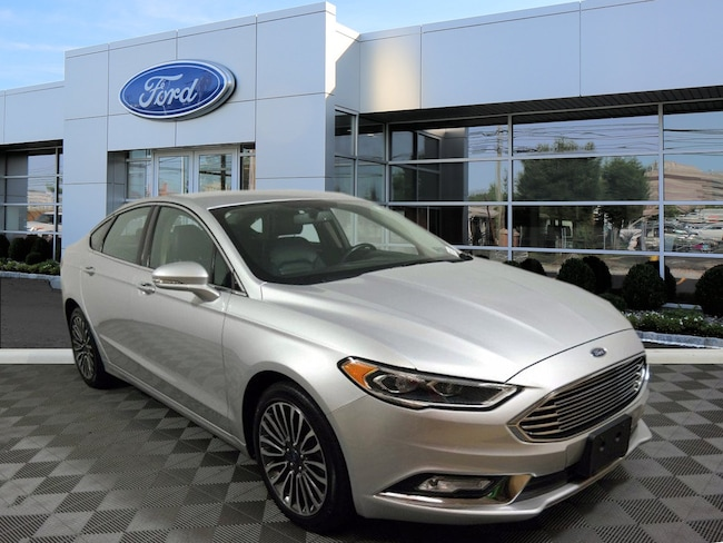 Certified 2017 Ford Fusion SE Sedan For Sale in West Chester, PA