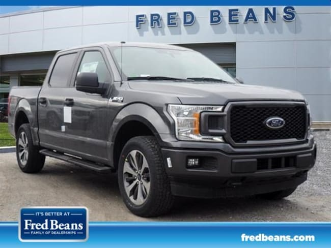 New 2019 Ford F-150 STX Truck SuperCrew Cab in West Chester PA
