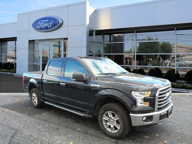 Certified 2015 Ford F-150 XLT Truck SuperCrew Cab For Sale in West Chester, PA