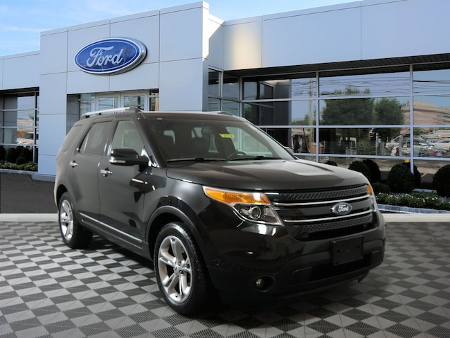 Certified 2015 Ford Explorer Limited SUV For Sale in West Chester, PA