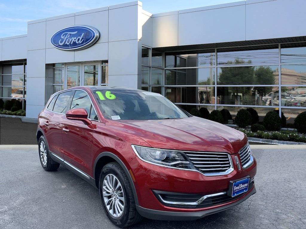 Fred Beans Ford Doylestown >> Certified Used 2016 Lincoln Mkx Select For Sale In Doylestown Pa Serving New Britain Pa Philadelphia Chalfont 2lmpj8kp9gbl35657