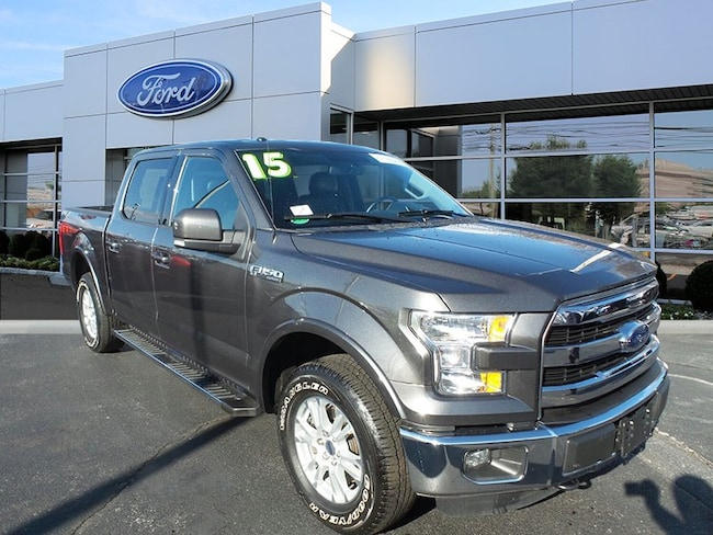 Certified 2015 Ford F-150 Lariat Truck SuperCrew Cab For Sale in West Chester, PA
