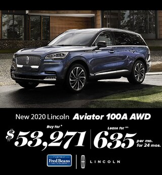 New 2020 Lincoln Aviator 100A AWD