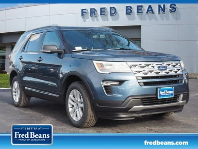 Fred Beans Ford West Chester >> New 2019 Ford Explorer For Sale At Fred Beans Lincoln Of
