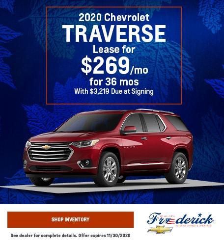 2020 Chevrolet Traverse - November