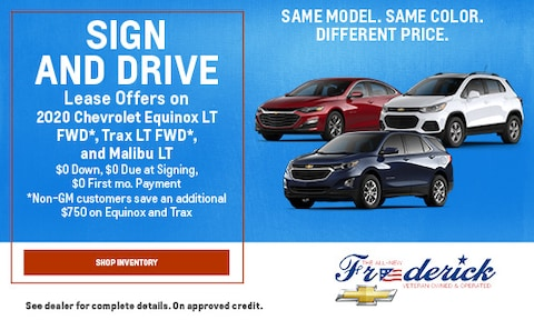 Sign and Drive Lease Offers - September