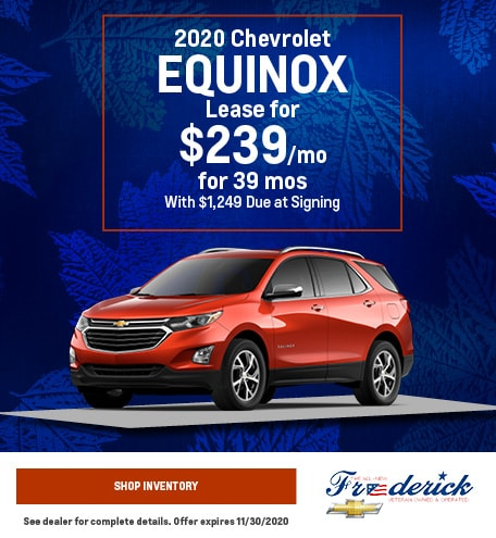 2020 Chevrolet Equinox - November
