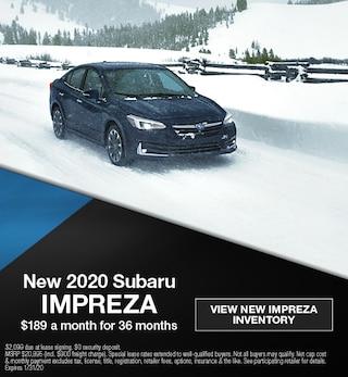 January 2020 Subaru Impreza Offer