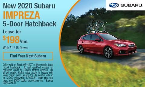 New 2020 Subaru Impreza 5-Door Hatchback