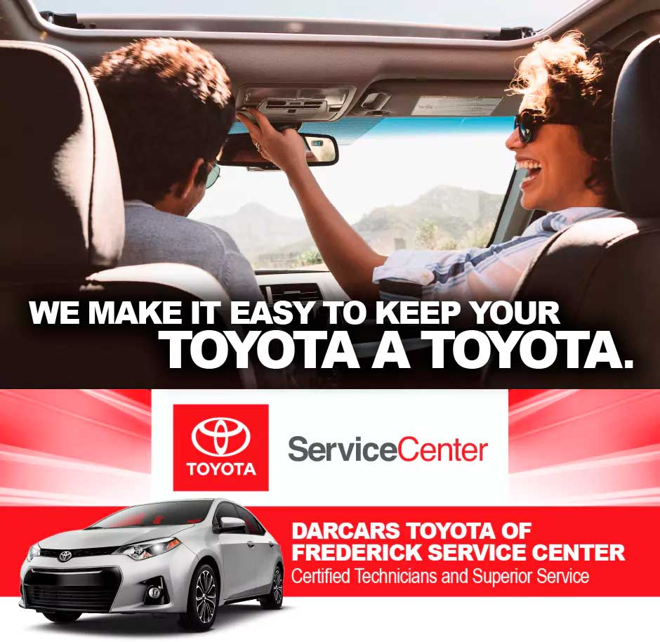 Toyota Frederick Md >> Toyota Service Center In Frederick Md Darcars Auto Service Center