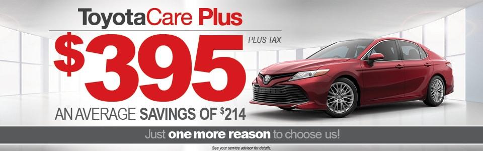 Toyota Care Plus >> Toyotacare Plus Maintenance Plan Darcars Toyota Of Frederick