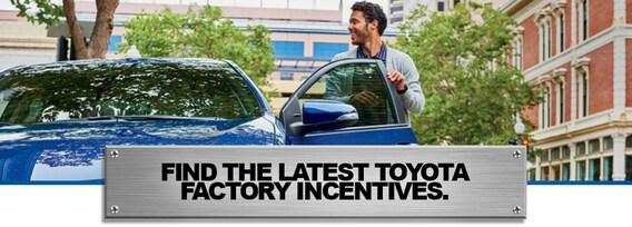Toyota Finance Deals >> Toyota Deals Incentives Rebates Specials In Frederick Md