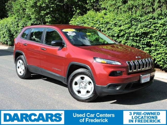 Used 2016 Jeep Cherokee Sport SUV in Frederick