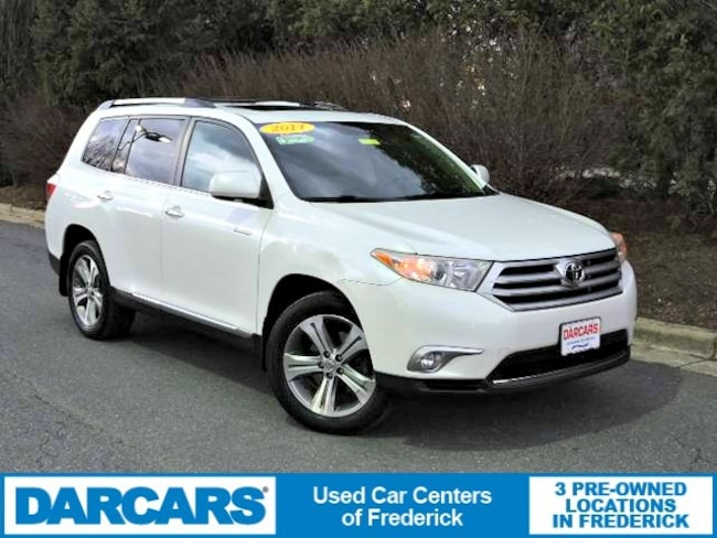 Used 2011 Toyota Highlander Limited V6 SUV in Frederick