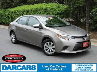 Certified 2016 Toyota Corolla LE Sedan in Frederick
