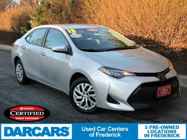 Certified 2018 Toyota Corolla LE Sedan in Frederick
