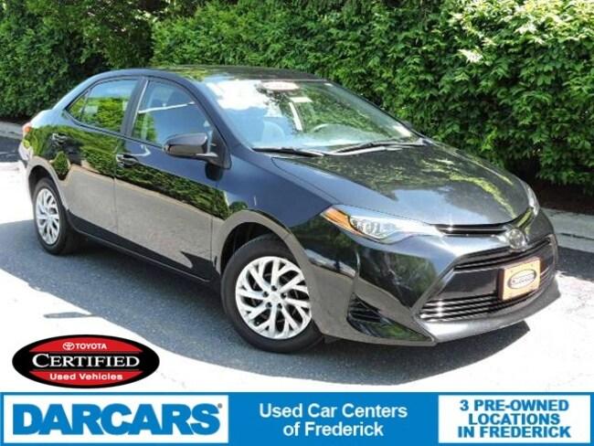 Certified 2018 Toyota Corolla LE Sedan in Frederick
