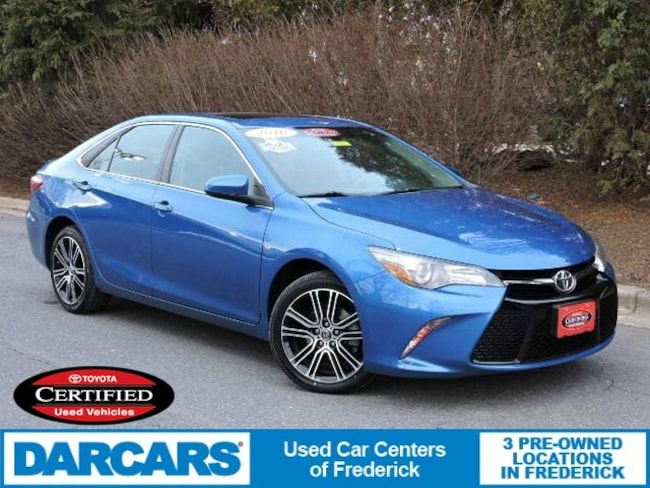 Certified 2016 Toyota Camry SE w/Special Edition Pkg Sedan in Frederick