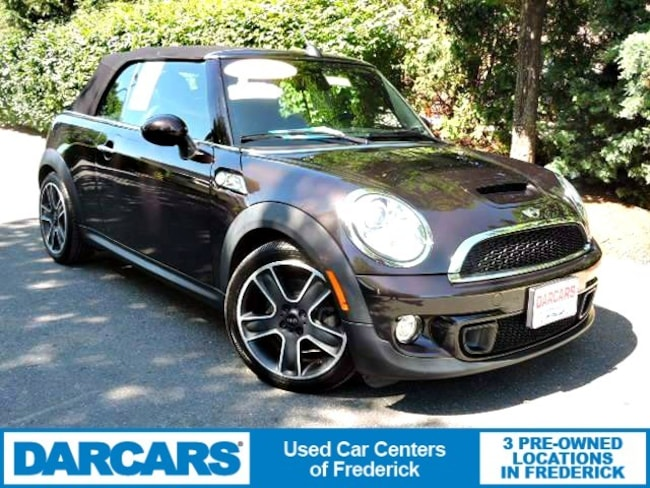 Used 2015 MINI Convertible Cooper S Convertible in Frederick