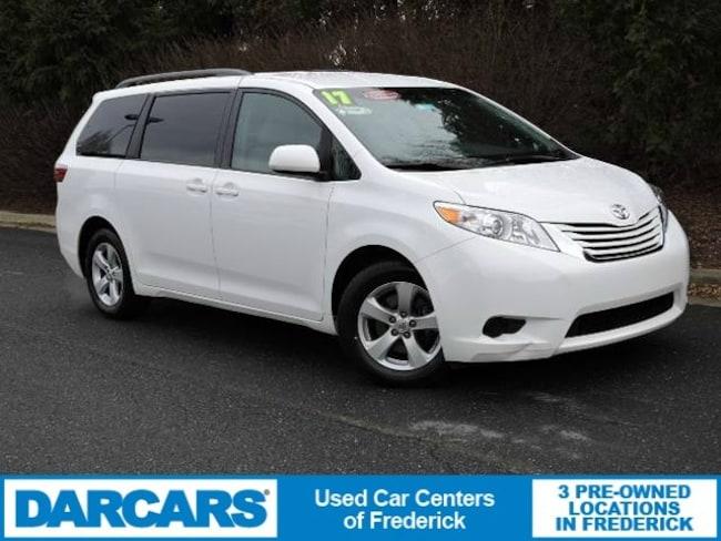 Certified 2017 Toyota Sienna LE 8 Passenger Van in Frederick