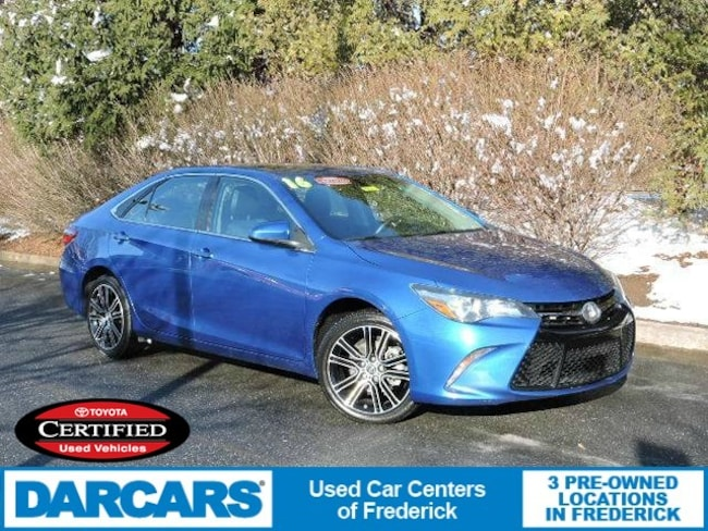 Used 2016 Toyota Camry SE w/Special Edition Pkg Sedan in Frederick