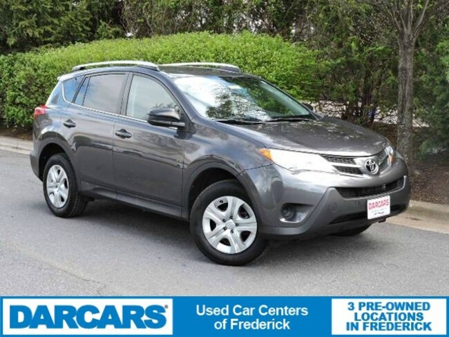 Used 2015 Toyota RAV4 LE (A6) SUV in Frederick